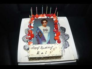 こんなに豪華なケーキも!!