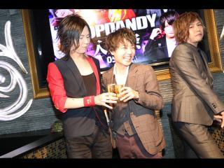 翔平部長と乾杯です!