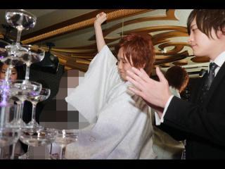 シャンパンオープン!!