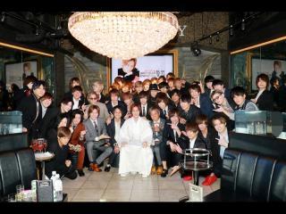 最後に全員で記念撮影!!以上「TOPDANDY」より悠聖副主任バースデーイベントでした!!