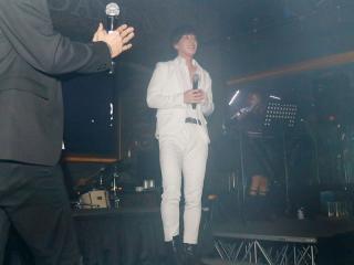 白スーツに身を包みEXILEのM&Aです!