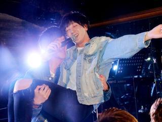 龍司幹部補佐にお姫様抱っこしてもらい嬉しそうな表情!